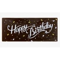 CHOCOLATE LABEL-HAPPY BIRTHDAY (DARK)