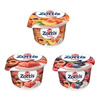 ZOTTIS ASST YOGURTS 100G (Strawberry, Forest fruits and Peach)